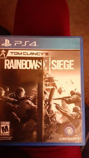 Ps4 Rainbow six siege for Sale in Stockton, CA