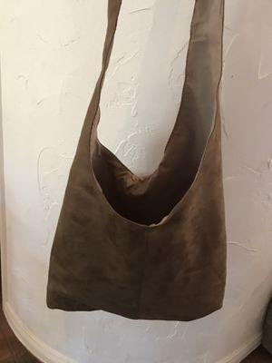 NEW Suede Hobo Bag for Sale in Las Vegas, NV