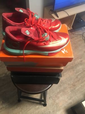 "Nike Kd 6 ""Christmas"" Size 12 for Sale in Bowling Green, KY"