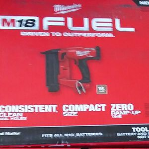 Milwaukee FUEL Brad Nailer for Sale in Fort Myers, FL
