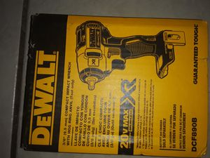 DEWALT 20-Volt Max Lithium-Ion 3/8 in. Cordless Compact Impact Wrench (Tool-Only)150ft/lbs for Sale in Phoenix, AZ