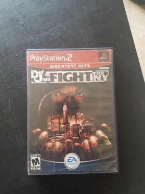 Def Jam PS2 for Sale in Frisco, TX
