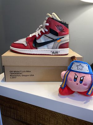 Off-White Chicago Jordan 1's (Size 9) for Sale in Fresno, CA
