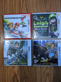 Nintendo 3DS games for Sale in Lynnwood,  WA