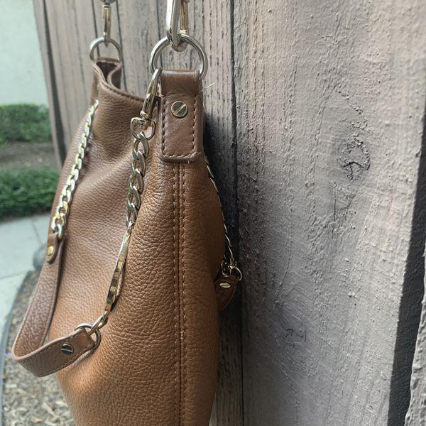 Michael Kors Brown Crossbody Leather Bag