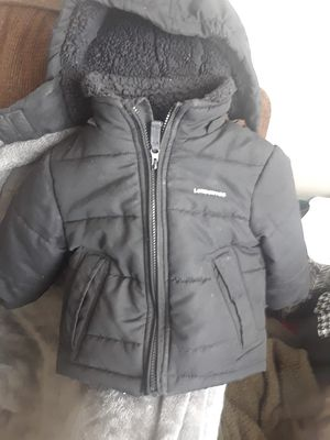 18 months London Fog Coat for baby/toddler detachable hood for Sale in Cedar Falls, IA
