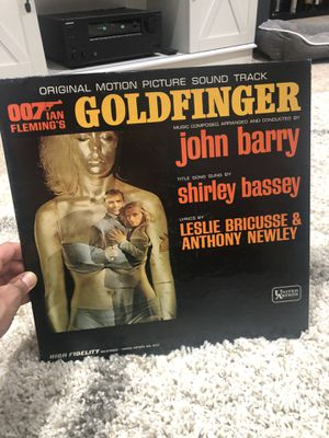 007 goldfinger original motion picture soundtrack lp for Sale in Carlsbad, CA