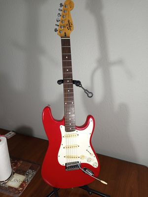 Fender Squier Stratocaster Bullet Series Electric Guitar w/Case for Sale in Arlington, TX