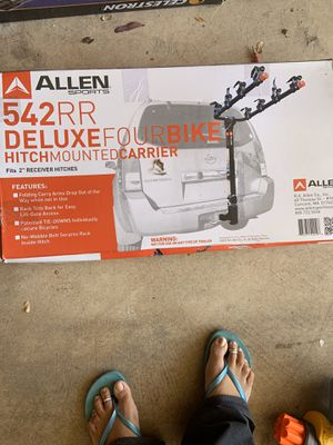 Allen Sports Deluxe 4-Bike Hitch Mount Rack for Sale in Gainesville, VA