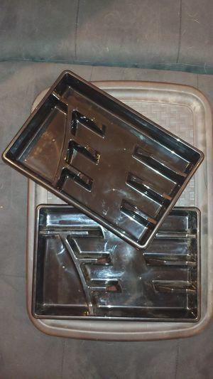 Plastic silverware drawer sorters for Sale in Dallas, TX