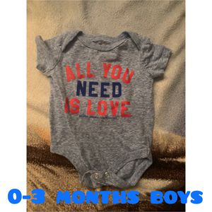 0-3 months boys for Sale in Fresno, CA