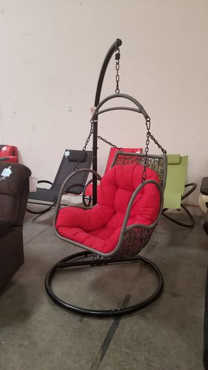 Red patio swings. New in box for Sale in Chino, CA