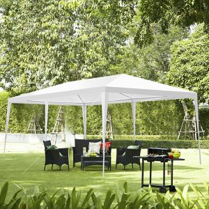 NEW White Canopy Party Wedding Tent Heavy Duty Gazebo Event Outdoor Patio Table Shade Up Car/Truck Swimming Pool EZ bbq Cover Umbrella Shed Shelter for Sale in Irvine, CA