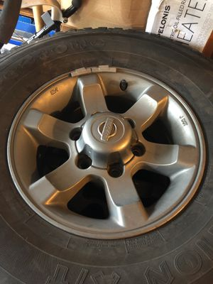 Nissan Frontier OEM Alloy Wheels for Sale in McChord Air Force Base, WA
