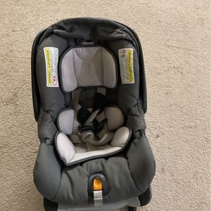 Chicco Car Seat With Base And Graco High Chair for Sale in South Brunswick Township, NJ