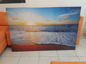 Nice Beach Painting For Sale for Sale in Hialeah, FL