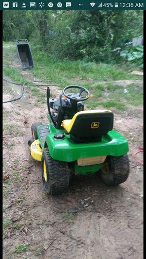 John Deere riding lawn mower 15 horsepower for Sale in Spring, TX