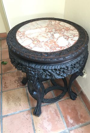 Antique Italian Marble Table for Sale in Fort Lauderdale, FL
