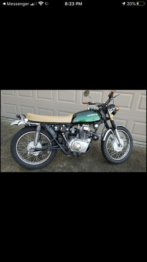 1974 honda CL 200 classic vintage motorcycle 200cc clean title for Sale in Vancouver, WA