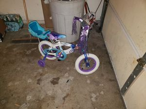 Frozen Bike for a 2 or 3 yr old. for Sale in Bloomington, IL