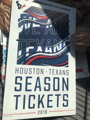Texans ticket for colts game thurs night for Sale in Cypress, TX