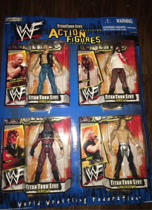 Vintage WWF Action Figures Wholesale Packaging for Sale in Columbus, OH