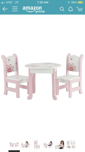 "Table with Chairs for 18"" Dolls (Fits American Girl Dolls) *New in Box, Unopened* for Sale in Miami, FL"