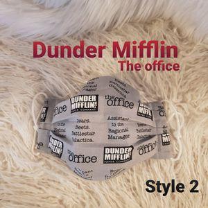 Dunder Mifflin Face mask for Sale in La Mirada, CA