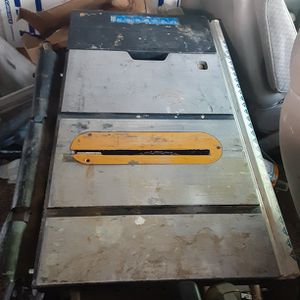 """RYOBI 10"""" TABLE SAW AND STAND for Sale in Phoenix, AZ"""