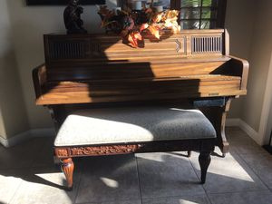 Pianocorder Reproducing Piano with Bench and Music Cassettes - Excellent Condition for Sale in Carlsbad, CA