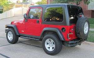 Red 2004 WRANGLER JEEP 4X4 AWDWheels Good for Sale in Columbia, SC