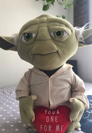 Star Wars Yoda Plush for Sale in Miami Gardens, FL