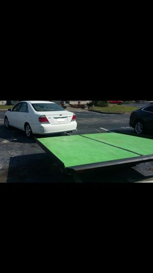 Trailer king size haul it also utility or motorcycle flat trailer. Can trade. for Sale in Orlando, FL