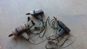 Corded Drills , Black Decker Craftsman Set of 3 for Sale in Fresno, CA