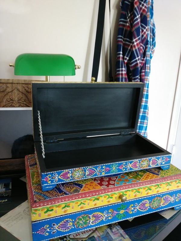 India storage box 2 sizes