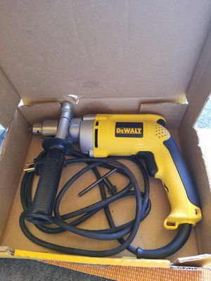 DEWALT 7.8 Amp Cored 1/2 in. Variable Speed Reversing Drill for Sale in Rialto, CA