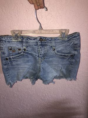 Women's jean shorts fringed at the bottom for Sale in Aloma, FL