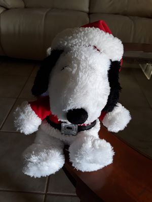 Xmas Snoopy for Sale in Whittier, CA