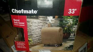 """CHEF MATE barrel Grill Cover weather resistant 33"""" for Sale in Lodi, CA"""