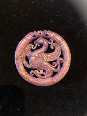 Blue stone Chinese pendant for Sale in Vacaville, CA