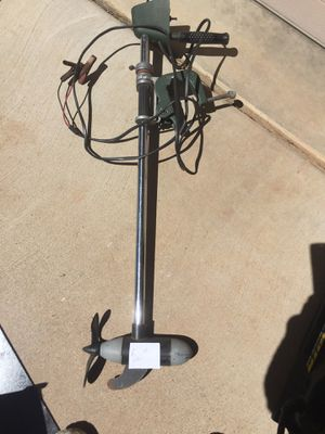 small ~ Battery operated boat motor ~ Sears for Sale in Heber, AZ