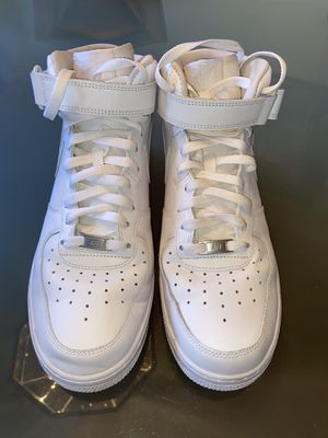 Air force 1 Mid White size 12 for Sale in Philadelphia, PA