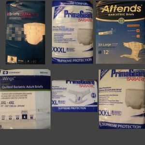 ADULT SIZE DIAPERS PLUS SIZE for Sale in Tacoma, WA