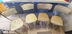1950s chairs. Both styles are made by chromcraft corporation. for Sale in Montesano, WA