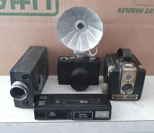 Old school camera equipment, 4 different kinds. Working too!! for Sale in Las Vegas, NV