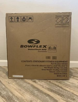 BowFlex 552 Dumbbell Set for Sale in Bakersfield, CA
