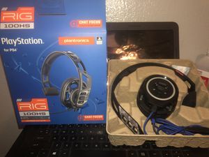 PlayStation RIG 100HS gaming headphones for Sale in Round Rock, TX