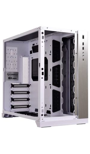 Lian Li PC-O11DW 011 Dynamic Tempered Glass on The Front Chassis Body SECC ATX Mid Tower Gaming Computer Case White for Sale in El Monte, CA