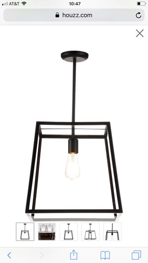 Industrial Pendant Light, Large - BRAND NEW for Sale in Carmichael, CA