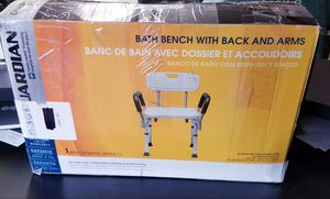 Shower Chair with Arms & Back Rest⭐Open Box Unused ⭐ for Sale in Aurora, IL